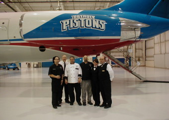 Pistons Jet Catering